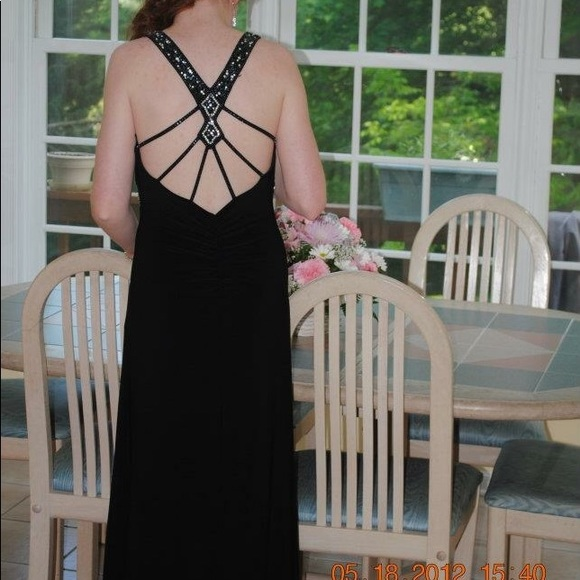 e9103d56f98a Xscape Dresses | Black Prom Dress From Lord And Taylor | Poshmark